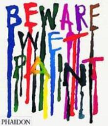 Beware Wet Paint - Alan Fletcher - copertina