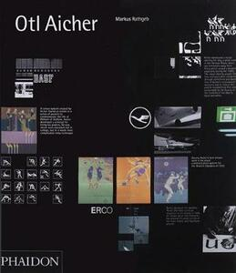 Otl Aicher. Ediz. inglese - Markus Rathgeb - copertina