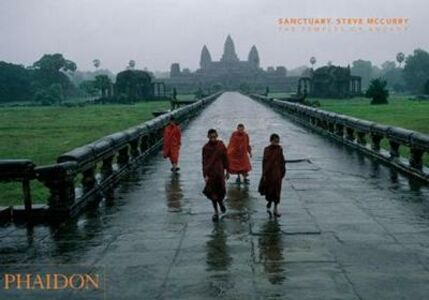 Libro Sanctuary. The temples of Angkor Steve McCurry