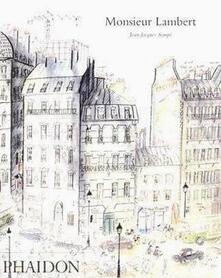 Monsieur Lambert. Ediz. inglese - Jean-Jacques Sempé - copertina