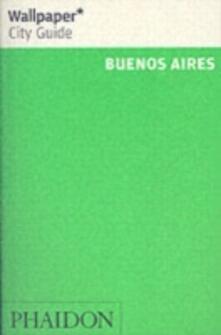Buenos Aires. Ediz. inglese - copertina