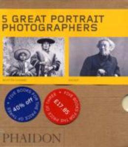 Libro Five great portrait photographers. Ediz. illustrata