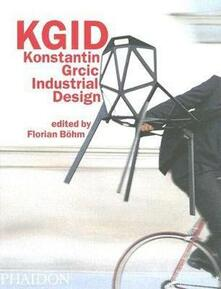 KGID. Konstantin Grcic Industrial Design - copertina