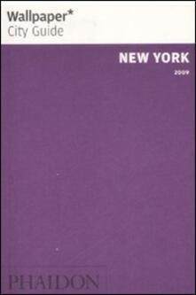 New York 2009 - copertina