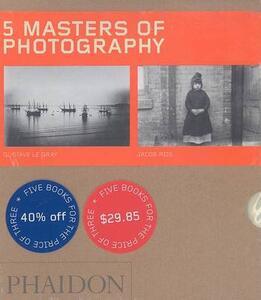 Five Masters of Photography - Sylvie Aubenas,Gerry Badger,Amanda Hopkinson - cover