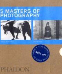 Foto Cover di Five masters of photography, Libro di  edito da Phaidon