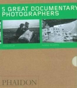 Five great documentary photographers. Ediz. illustrata - copertina