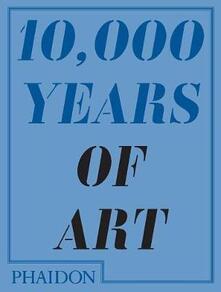 Diecimila anni di arte - copertina