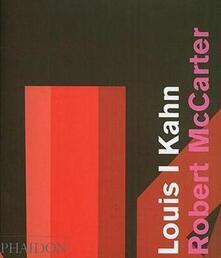Louis I. Kahn - Robert McCarter - copertina
