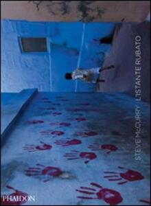 L' istante rubato - Steve McCurry - copertina
