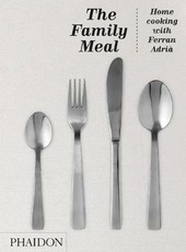 Family meal. The homme cooking with Ferran Adrià
