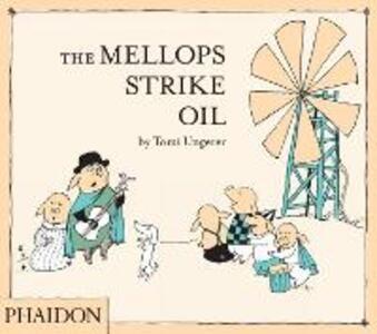 The Mellops strike oil - Tomi Ungerer - copertina