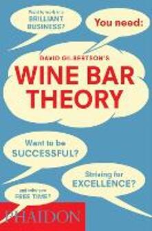 Wine bar theory - David Gilbertson - copertina