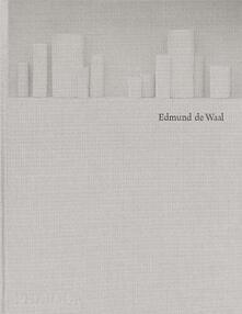 Edmund De Waal. Ediz. inglese - copertina