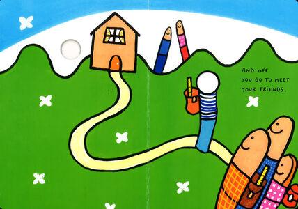 Foto Cover di The good morning game, Libro di Hervé Tullet, edito da Phaidon 4