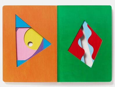 Libro The game of shapes Hervé Tullet 3