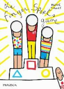 Libro The finger sports game Hervé Tullet 0