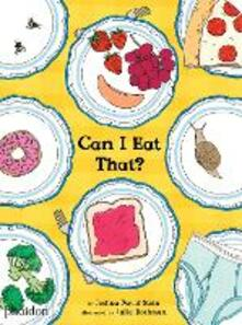 Can I eat that? Ediz. illustrata - Joshua David Stein - copertina