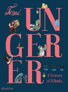 A treasury of 8 books - Tomi Ungerer - copertina