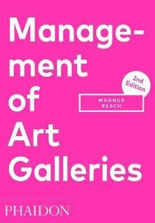 Management of art galleries - Magnus Resch - copertina