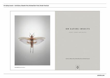 On eating insects. Essays, stories and recipes - Joshua David Evans,Roberto Flore,Michael Frost - 2