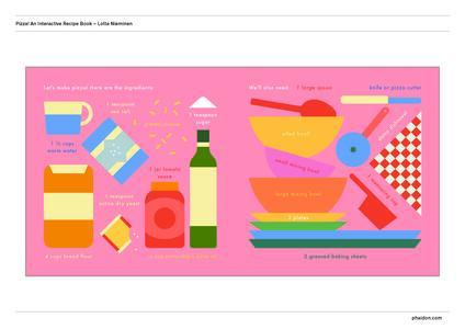Pizza! An interactive recipe book. No food required! Cook in a book. Ediz. a colori - Lotta Nieminen - 2