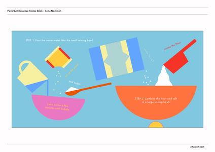 Pizza! An interactive recipe book. No food required! Cook in a book. Ediz. a colori - Lotta Nieminen - 3