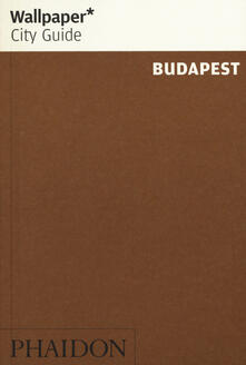Budapest. Ediz. inglese - copertina