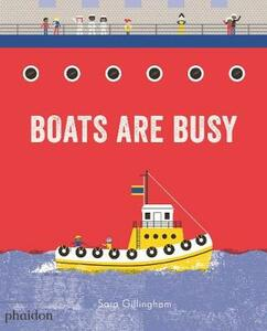 Boats Are Busy - cover