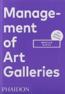 Management of Art Galleries - Magnus Resch - cover