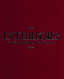 Interiors: The Greatest Rooms of the Century. Ed. Rossa - Lingua inglese - copertina