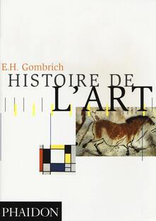 Histoire de l'art - Ernst H. Gombrich - copertina