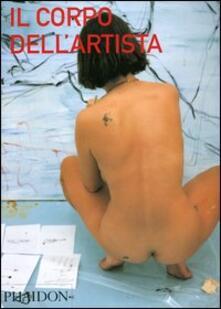 Il corpo dell'artista - copertina