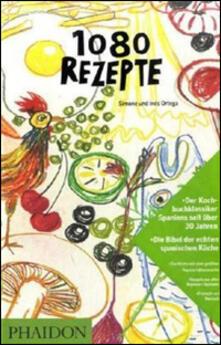 1080 rezepte. Ediz. tedesca - Simone Ortega,Ines Ortega - copertina