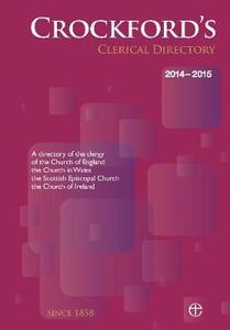 Crockford's Clerical Directory 2014/15 (hardback) - Church of England - cover