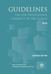 Guidelines for the Professional Conduct of the Clergy 2015: Revised edition - cover