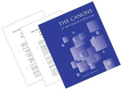 Canons of the Church of England 7th Edition - cover