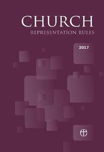Church Representation Rules 2017 - cover