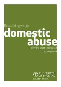 Responding Well to Domestic Abuse 2nd edition: Policy and practice guidance - cover