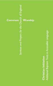 Common Worship Christian Initiation - cover