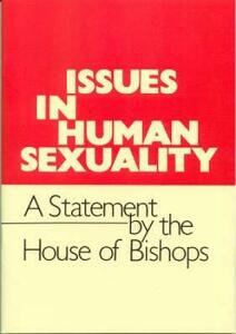 Issues in Human Sexuality: A Statement by the House of Bishops - Church of England House of Bishops - cover
