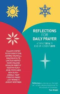 Reflections for Daily Prayer - Gillian Cooper,Peter Graystone,Joanne Grenfell - cover