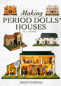 Period Doll's Houses in 1/12th Scale - Brian Nickolls - cover