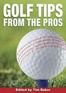 Golf Tips from the Pros - cover