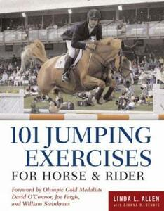 101 Jumping Exercises: For Horse and Rider - Linda L. Allen - cover