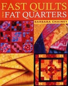 Fast Quilts from Fat Quarters - Barbara Chainey - cover