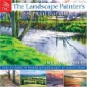 Landscape Painter's Essential Handbook: How to Paint 50 Beautiful Landscapes in Watercolour - Joe Dowden - cover