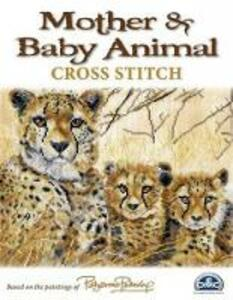 Mother & Baby Animal Cross Stitch: Based on the Paintings of Pollyanna Pickering - Pollyanna Pickering - cover