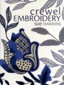 Crewel Embroidery - Sue Hawkins - cover