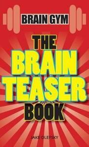 The Brain Teaser Book - Jake Olefskey - cover